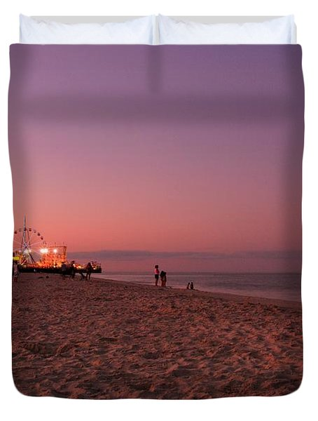 Seaside Park I - Jersey Shore Duvet Cover