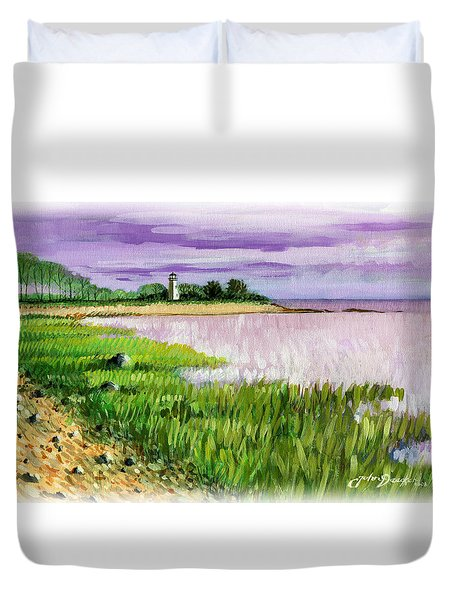 Seaside Park Duvet Cover