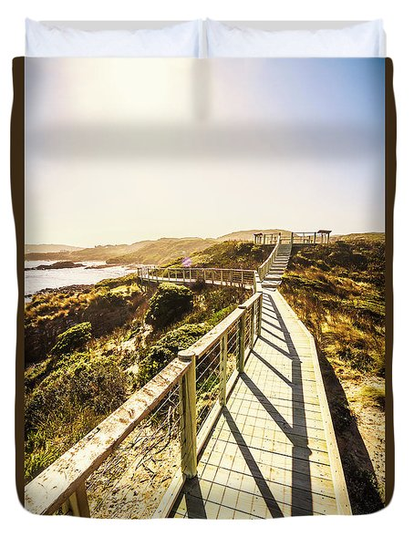 Seaside Perspective Duvet Cover