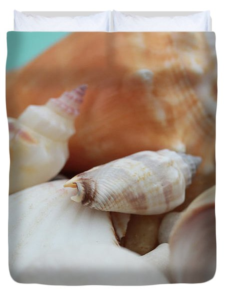 Seaside Seashells Duvet Cover