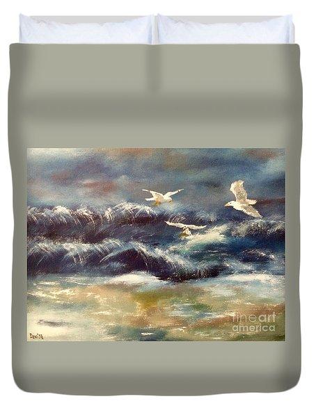 Seaside Serenade Duvet Cover