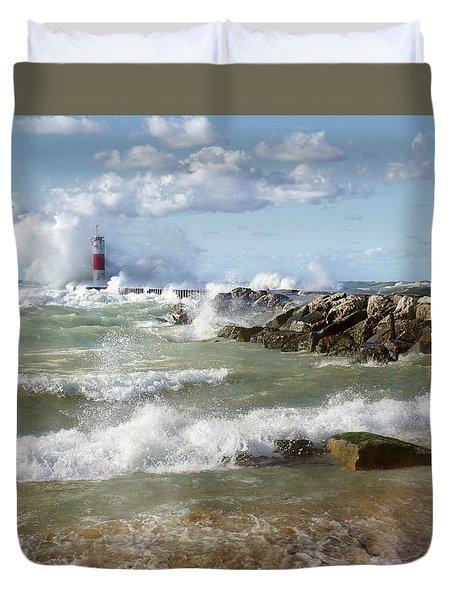 Seaside Splash Duvet Cover