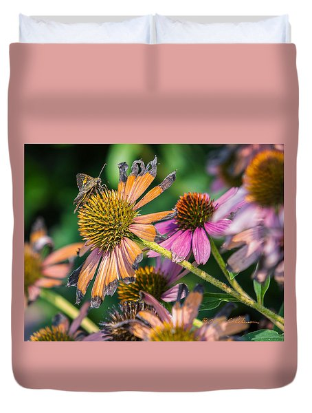Duvet Cover featuring the photograph Season Ending by Edward Peterson