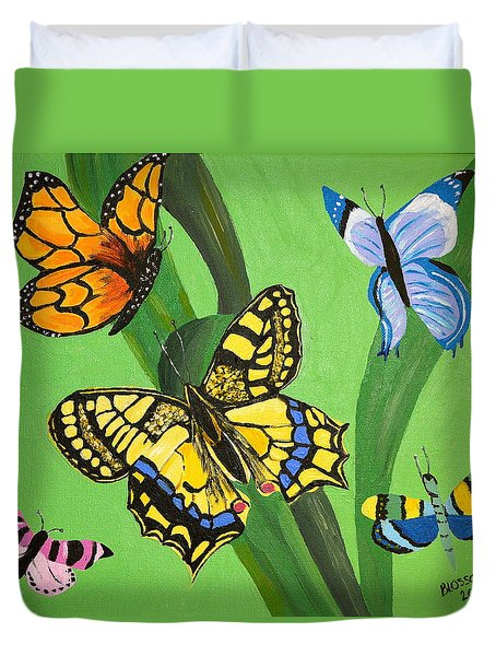 Season Of Butterflies Duvet Cover