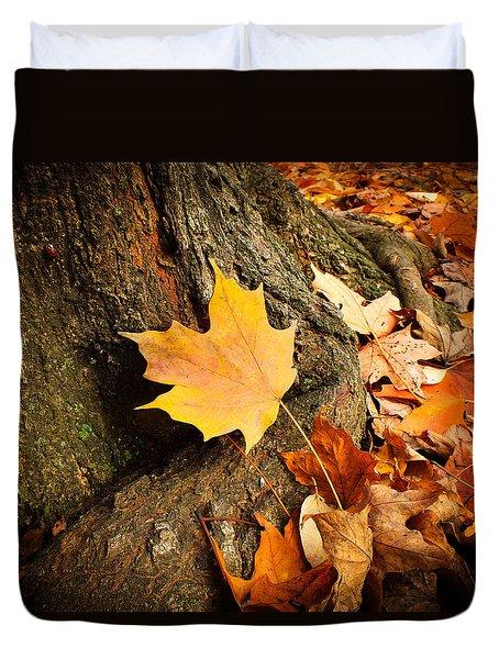 Seasonal Beauty  Duvet Cover