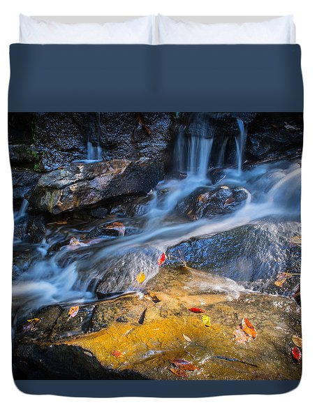 Seasons Collide Duvet Cover