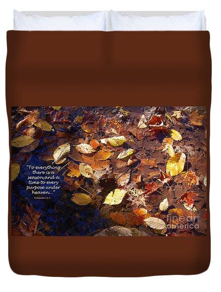Seasons Duvet Cover by Diane E Berry