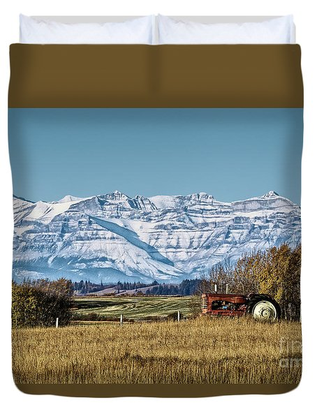 Season's End Duvet Cover