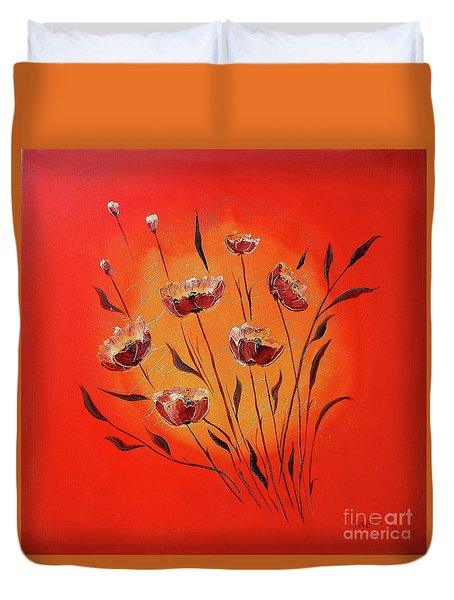 Seasons In The Sun Duvet Cover