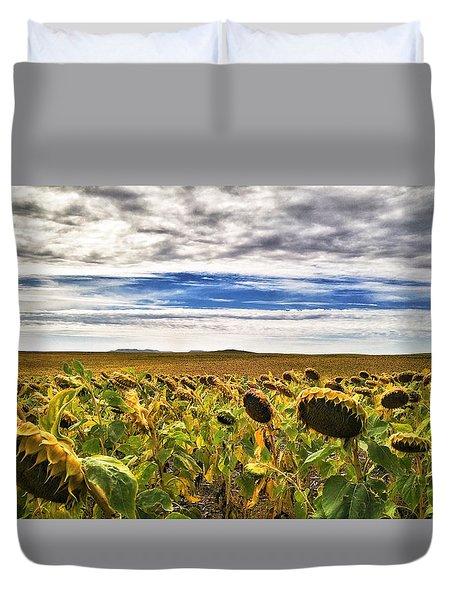 Seasons In The Sun Duvet Cover
