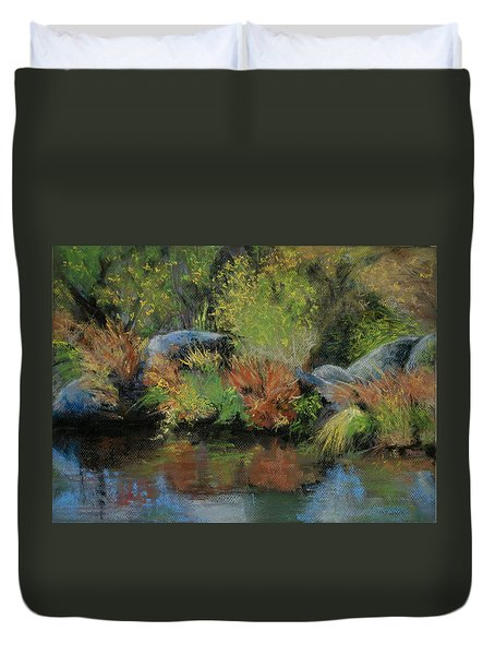 Seasons In Transition Duvet Cover