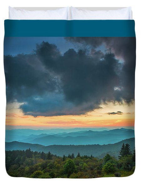 Duvet Cover featuring the photograph Seasons by Joye Ardyn Durham