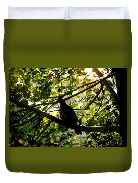Duvet Cover featuring the photograph Seasons Will Change by Bernd Hau