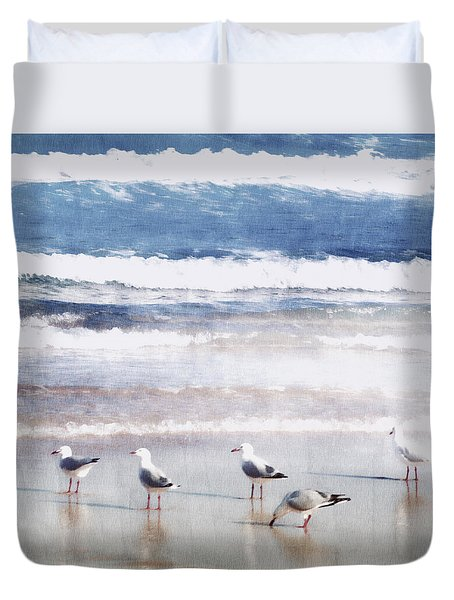 Seaspray Duvet Cover by Holly Kempe