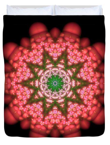 Seastar Lightmandala  Duvet Cover by Robert Thalmeier