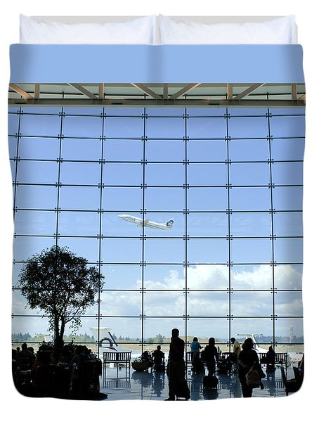 Seatac Airport K088 Duvet Cover by Yoshiki Nakamura