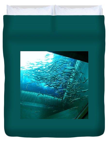 #aquarium Duvet Cover