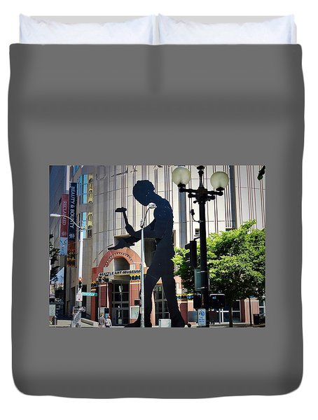Seattle Art Duvet Cover