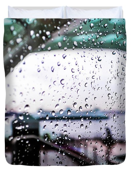 Seattle Drippin Duvet Cover