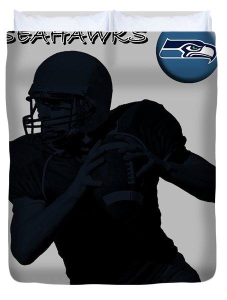 Seattle Seahawks Football Duvet Cover