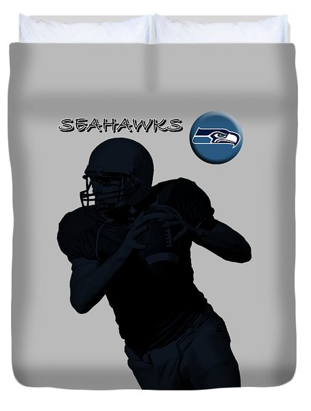 Seattle Seahawks Football Duvet Cover