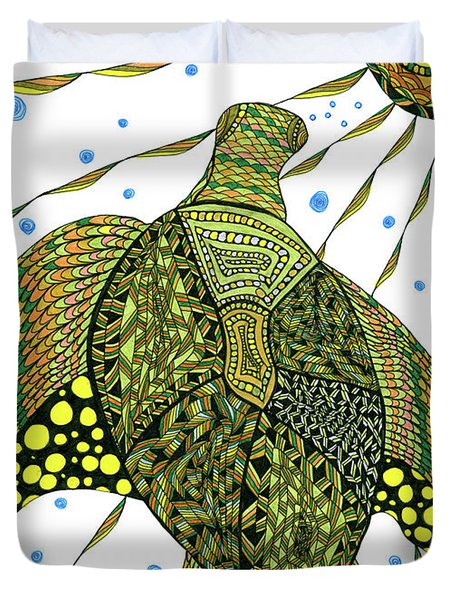 Seaturtle  Duvet Cover