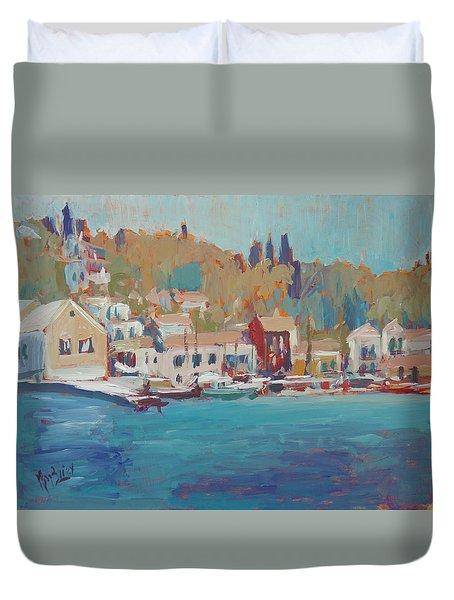Seaview Lggos Paxos Duvet Cover