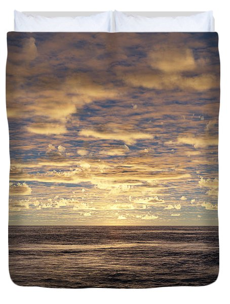 Duvet Cover featuring the photograph Seaview by Mark Greenberg