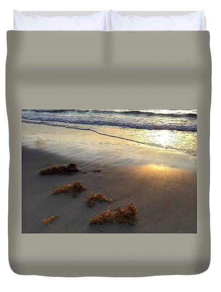 Seaweed Glow Duvet Cover