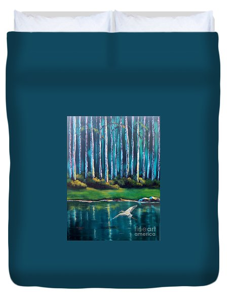 Secluded II Duvet Cover