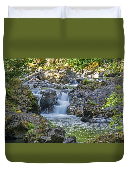 Secluded Inspiration Duvet Cover