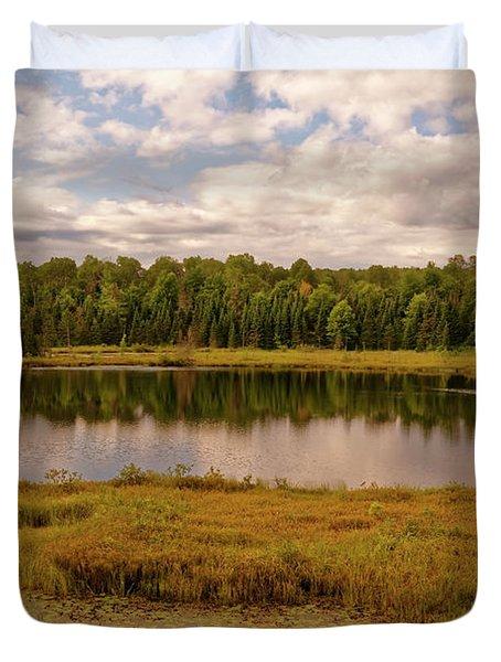 Secluded Lake Duvet Cover
