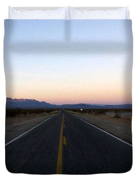 Secluded Sunrise Duvet Cover