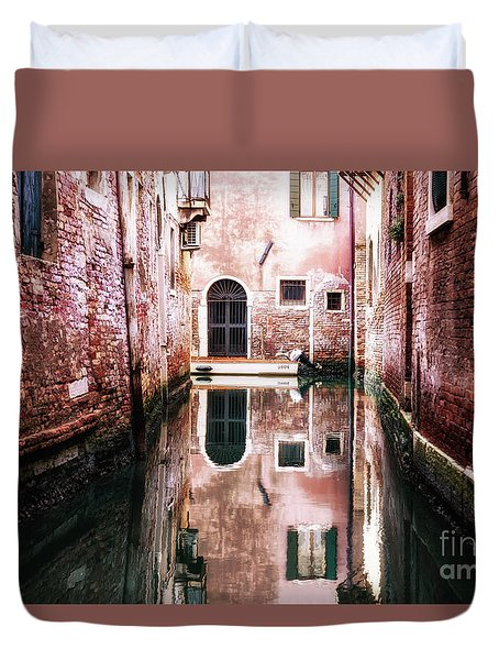 Secluded Venice Duvet Cover