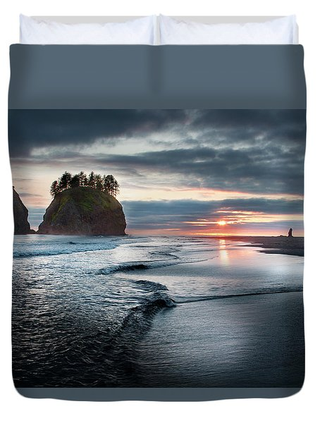 Second Beach #1 Duvet Cover