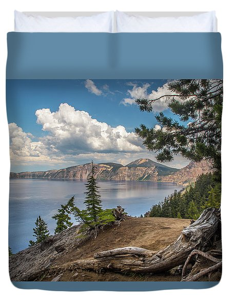 Second Crater View Duvet Cover