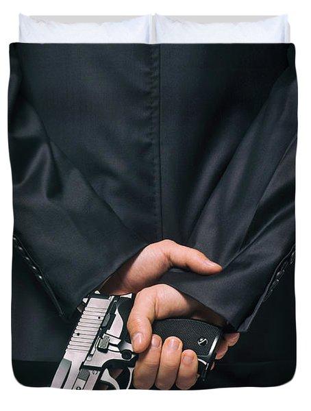 Secret Agent 4 Duvet Cover