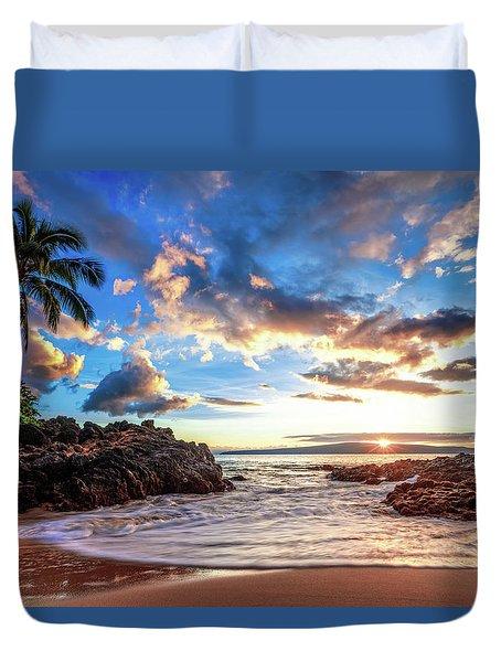 Secret Beach Duvet Cover