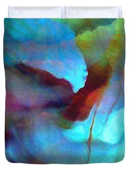 Secret Garden - Custom Version 2 - Abstract Art Duvet Cover