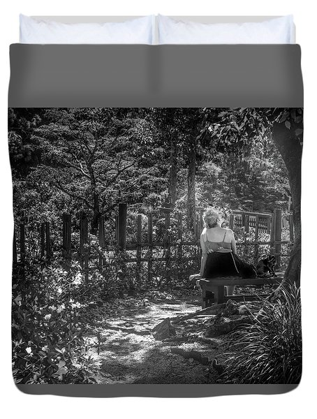 Secret Garden Duvet Cover