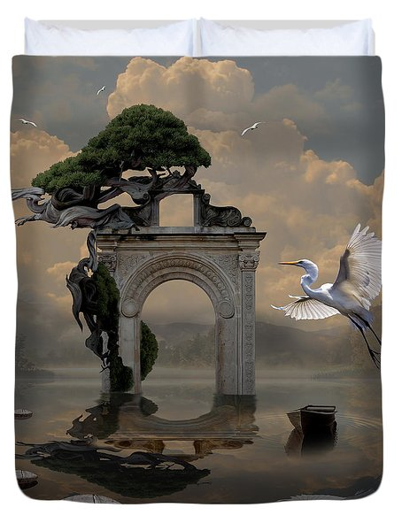 Secret Gate Duvet Cover