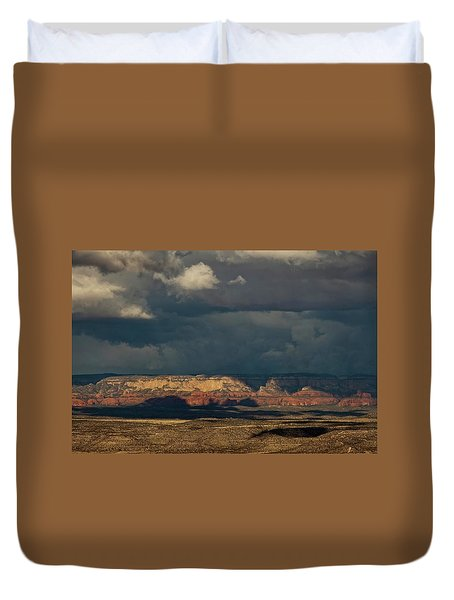 Secret Mountain Wilderness Storm Duvet Cover