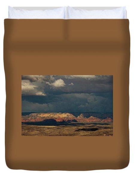 Secret Mountain Wilderness Storm Duvet Cover