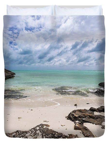Secret Of West Harbour Duvet Cover