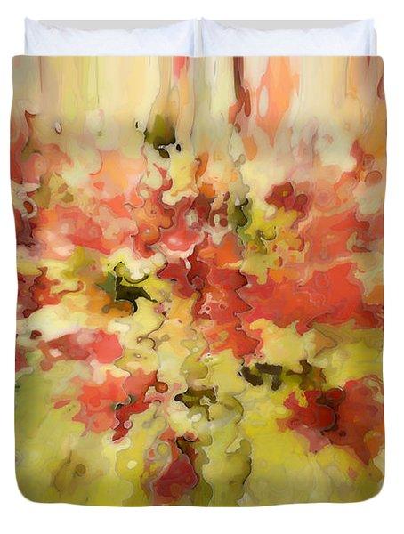Secret Separation Duvet Cover by Mark Lawrence