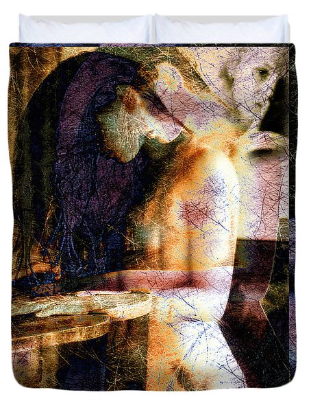 Secrets Duvet Cover by Bob Orsillo