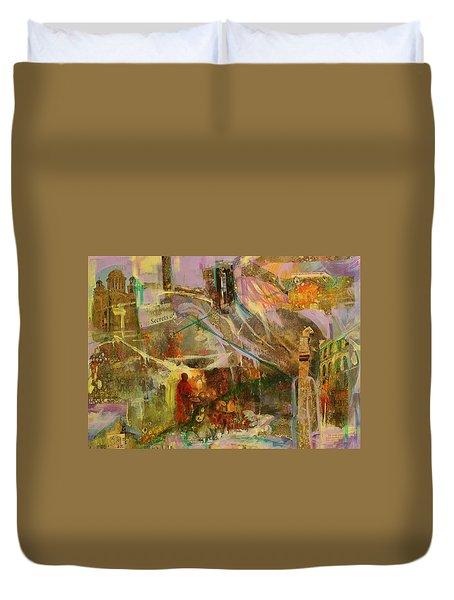 Secrets Duvet Cover by Mary Schiros