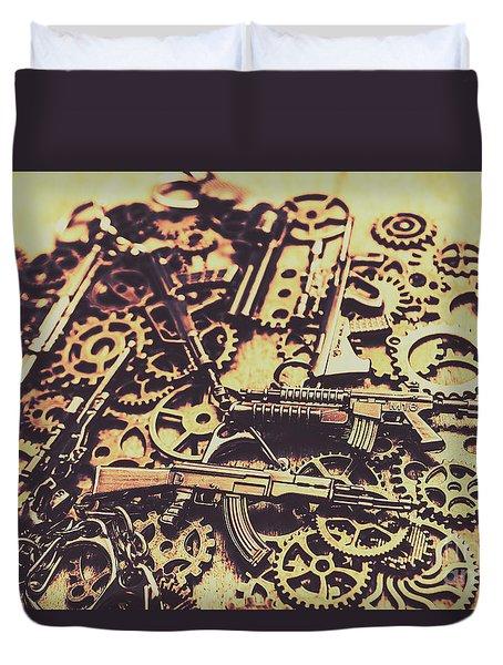 Security Stockpile Duvet Cover