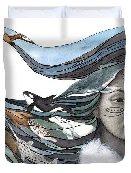 Sedna Duvet Cover by Antony Galbraith