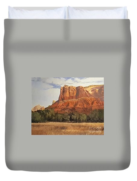 Sedona Afternoon In May Duvet Cover